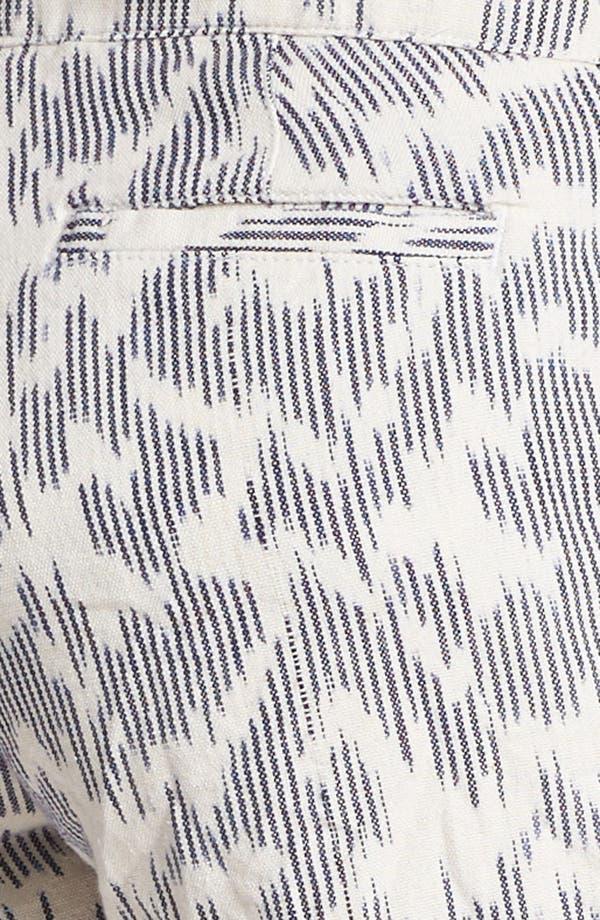 Alternate Image 3  - Lucky Brand 'Leela' Ikat Print Shorts