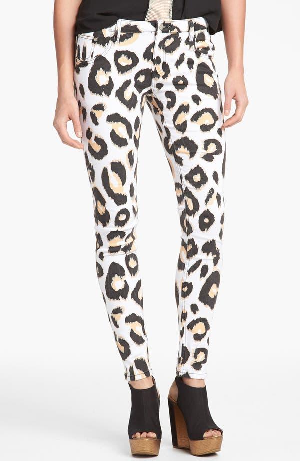 Alternate Image 1 Selected - MINKPINK 'Animal Kingdom' Skinny Jeans