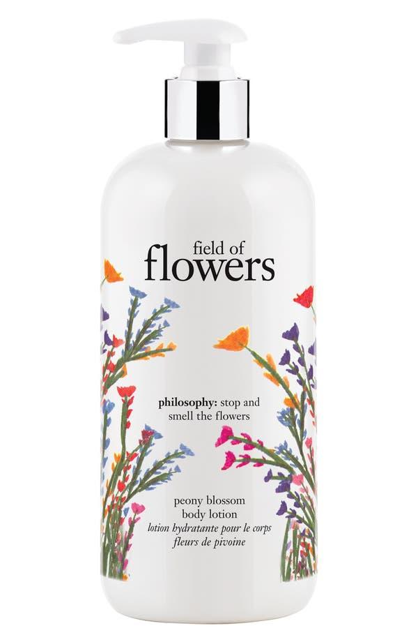 Alternate Image 1 Selected - philosophy 'field of flowers' perfumed body lotion