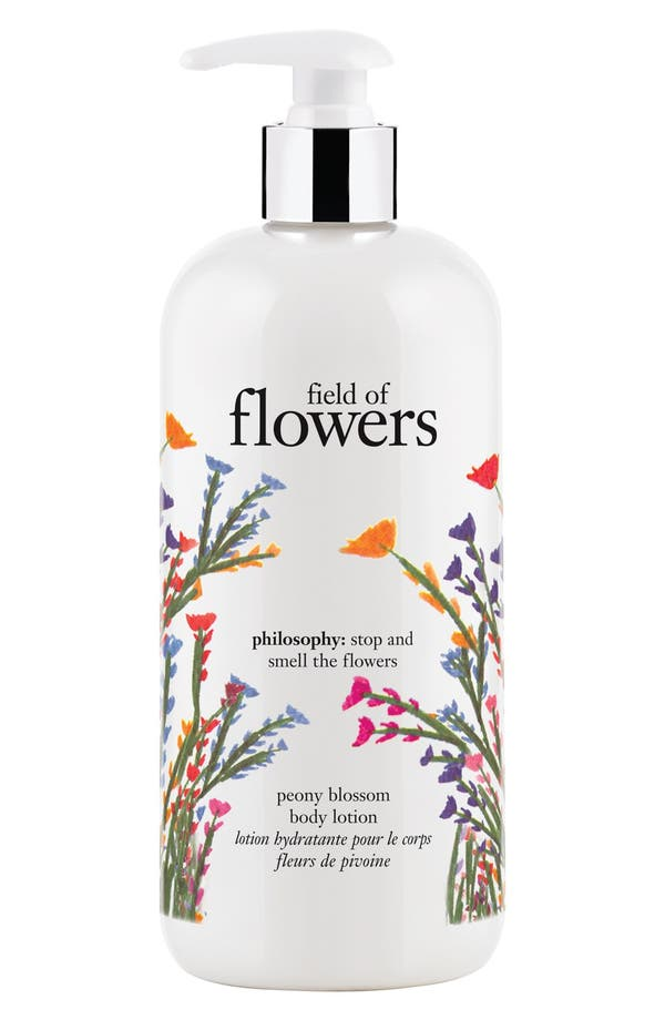 Main Image - philosophy 'field of flowers' perfumed body lotion