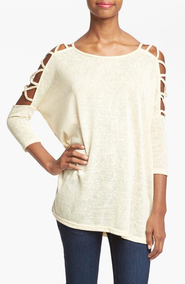 Main Image - MINKPINK 'Social Ladder' Knit Tunic