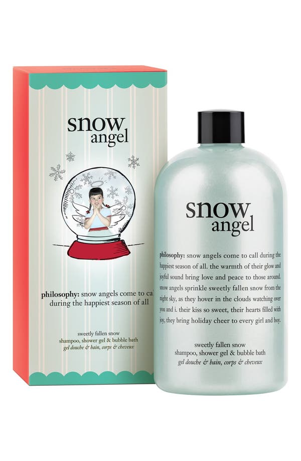 Main Image - philosophy 'snow angel' shampoo, shower gel & bubble bath