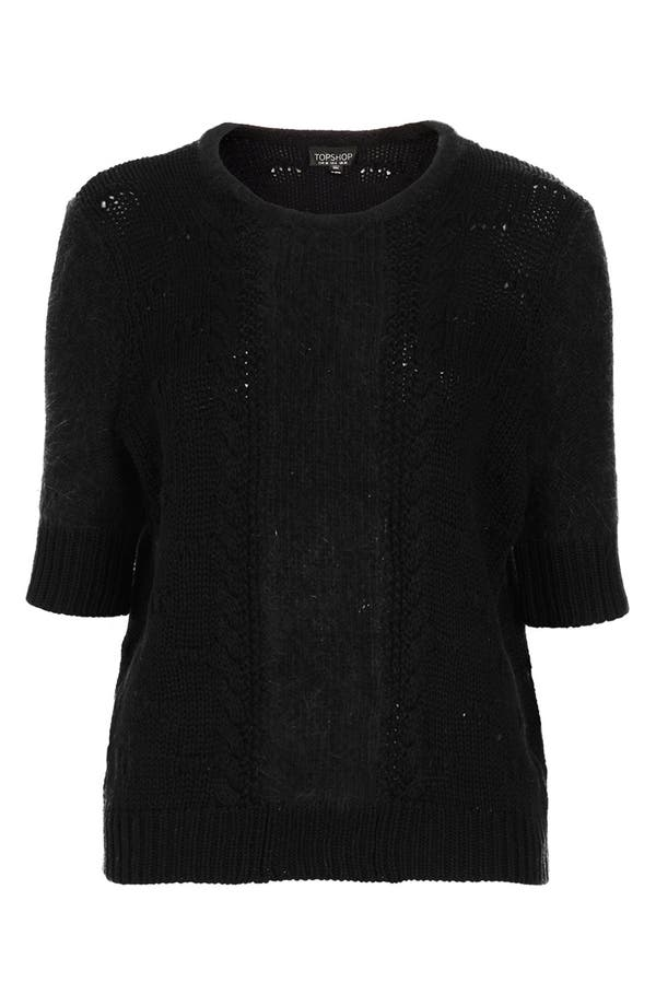 Alternate Image 3  - Topshop 'Carla' Elbow Sleeve Knit Sweater