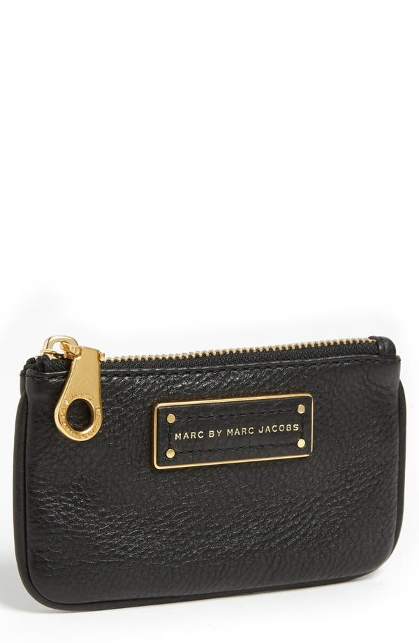 Alternate Image 1 Selected - MARC BY MARC JACOBS 'Too Hot to Handle' Leather Key Pouch
