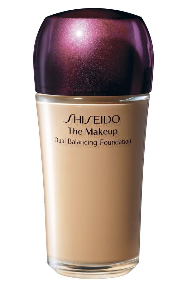 Alternate Image 1 Selected - Shiseido 'The Makeup' Dual Balancing Foundation