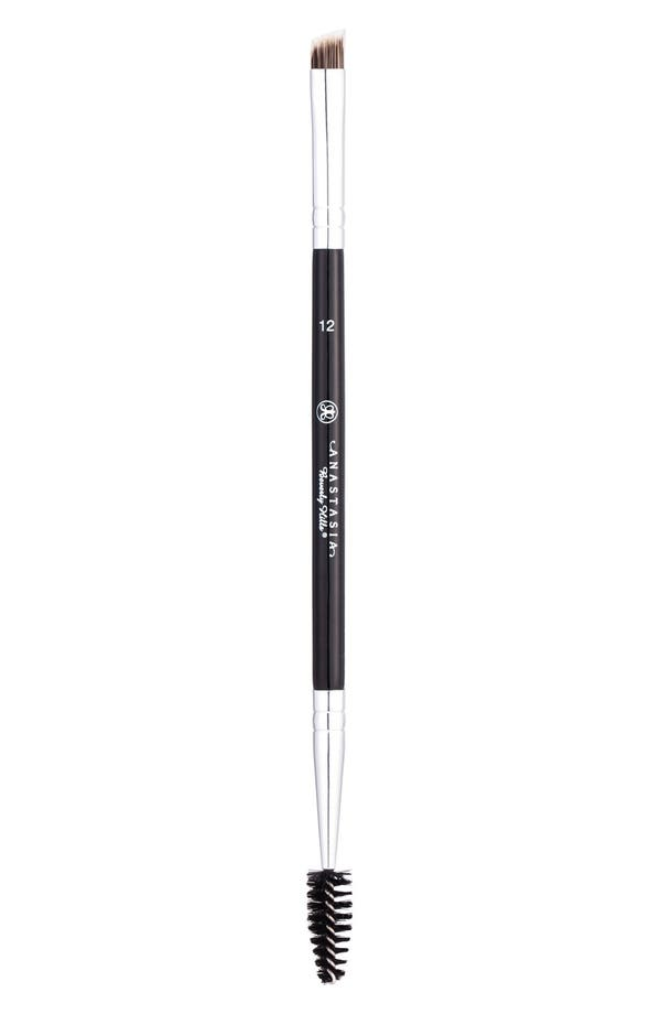 Main Image - Anastasia Beverly Hills #12 Large Synthetic Duo Brow Brush