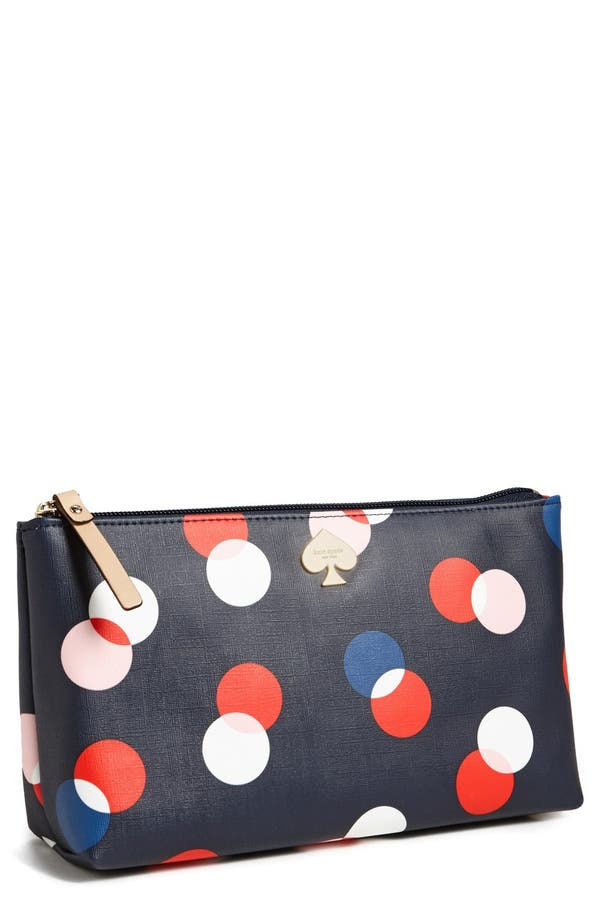 Alternate Image 1 Selected - kate spade new york 'shilo' cosmetics case