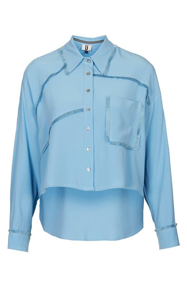 Main Image - Topshop Unique 'Fray' Shirt