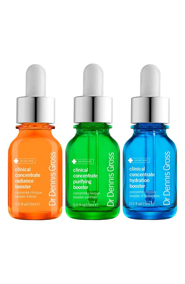 Main Image - Dr. Dennis Gross Skincare Clinical Concentrate Boosters Kit ($108 Value)