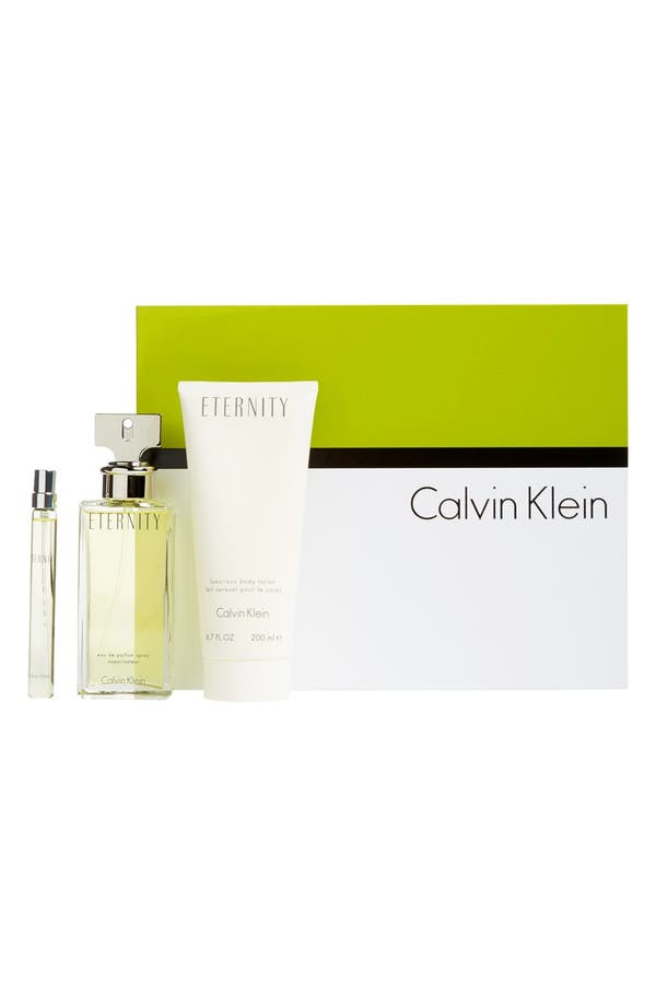 Alternate Image 1 Selected - Eternity by Calvin Klein Eau de Parfum Set (Limited Edition) ($132 Value)