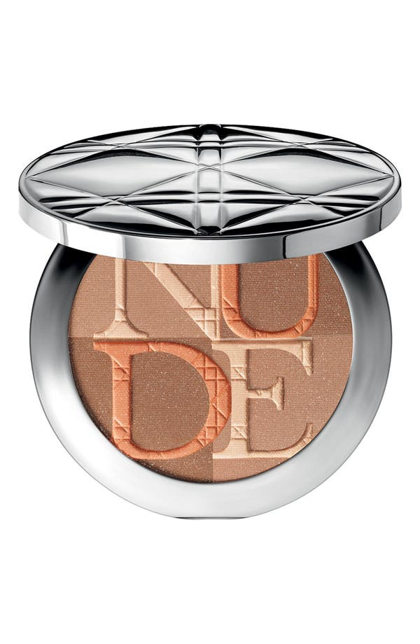 Main Image - Dior 'Diorskin' Nude Shimmer Instant Illuminating Powder & Kabuki Brush