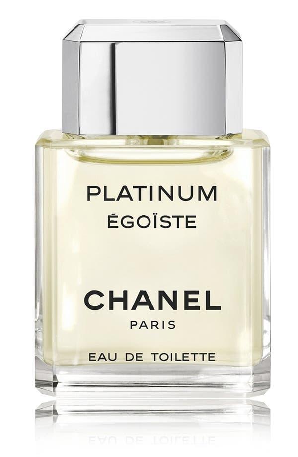 Main Image - CHANEL PLATINUM ÉGOÏSTE  Eau de Toilette Spray
