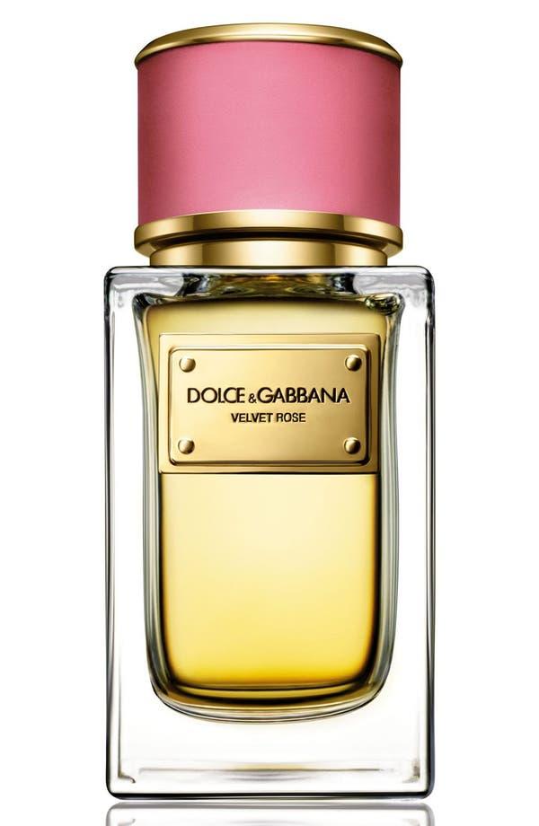 Alternate Image 1 Selected - Dolce&GabbanaBeauty 'Velvet Rose' Eau de Parfum