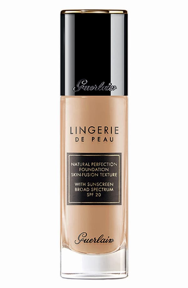 Alternate Image 1 Selected - Guerlain 'Lingerie de Peau' Fluid Foundation