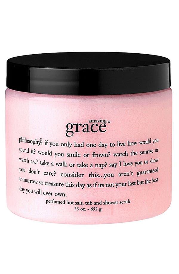 Main Image - philosophy 'amazing grace' salt scrub