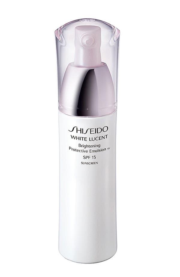 Main Image - Shiseido 'White Lucent' Brightening Protective Emulsion SPF 15