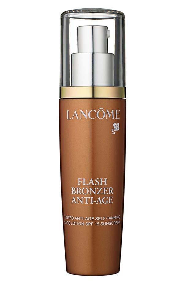 Alternate Image 1 Selected - Lancôme 'Flash Bronzer' Tinted Anti-Age Self-Tanning Face Lotion SPF 15
