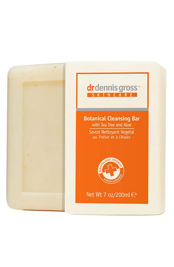 Alternate Image 1 Selected - Dr. Dennis Gross Skincare Botanical Cleansing Bar with Tea Tree & Aloe