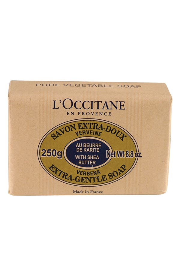 Alternate Image 1 Selected - L'Occitane 'Verbena' Shea Butter Extra Gentle Soap