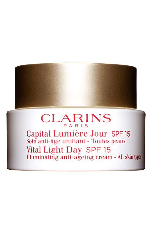 Alternate Image 1 Selected - Clarins 'Vital Light' Day Cream for All Skin Types SPF 15