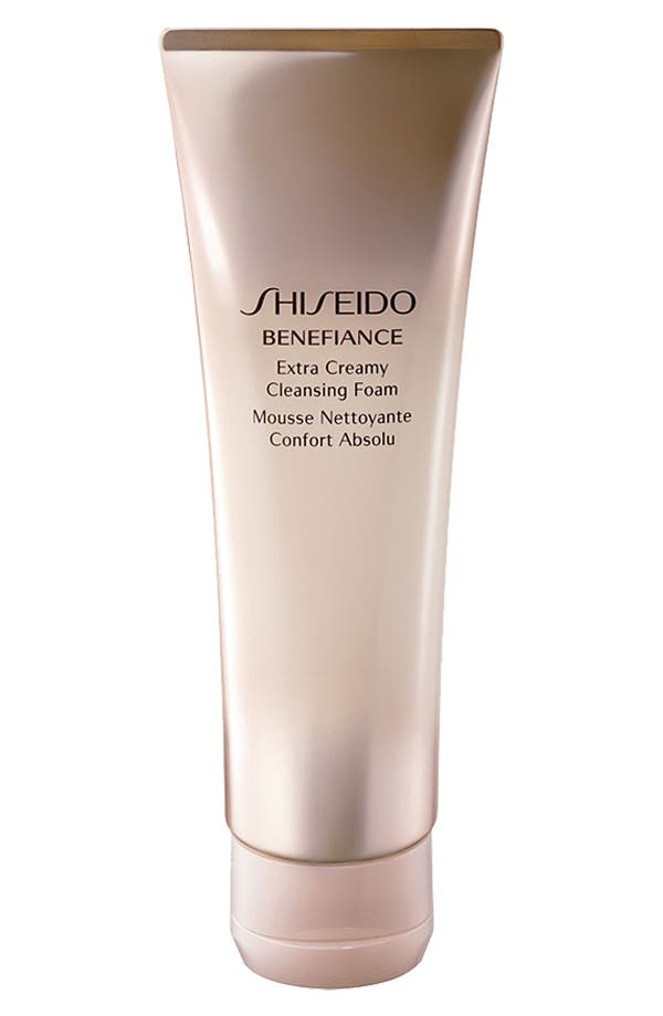 Alternate Image 1 Selected - Shiseido 'Benefiance' Extra Creamy Cleansing Foam