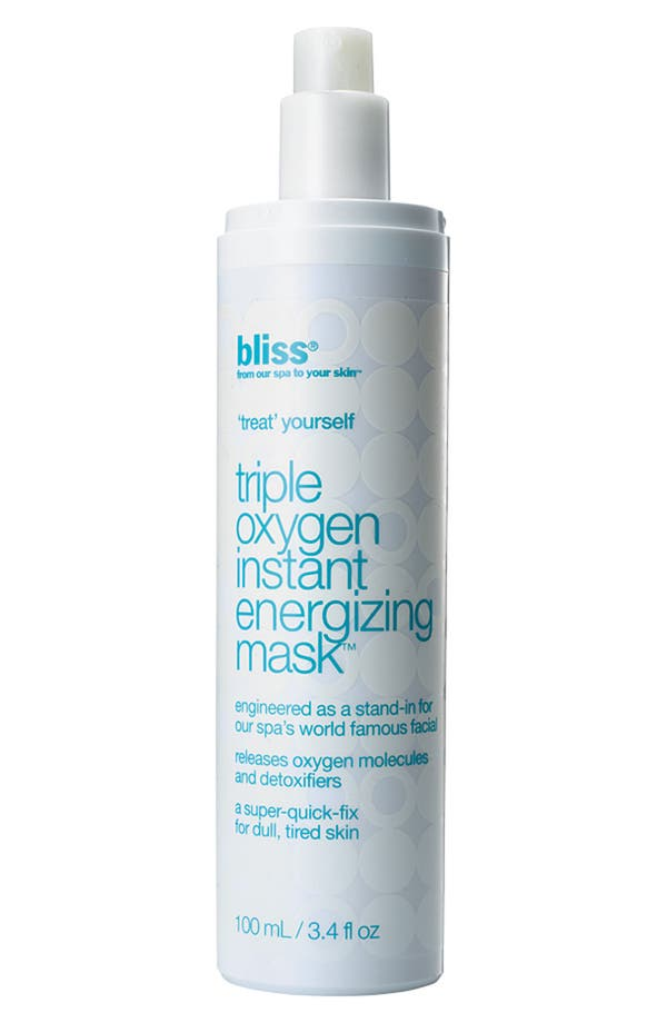 Alternate Image 1 Selected - bliss® 'Triple Oxygen' Instant Energizing Mask