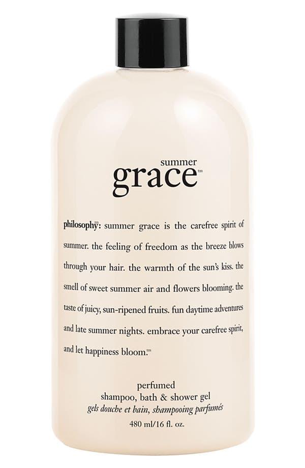 Main Image - philosophy 'summer grace' shampoo, bath & shower gel