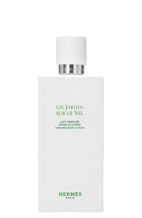 Main Image - Hermès Un Jardin sur le Nil - Perfumed body lotion
