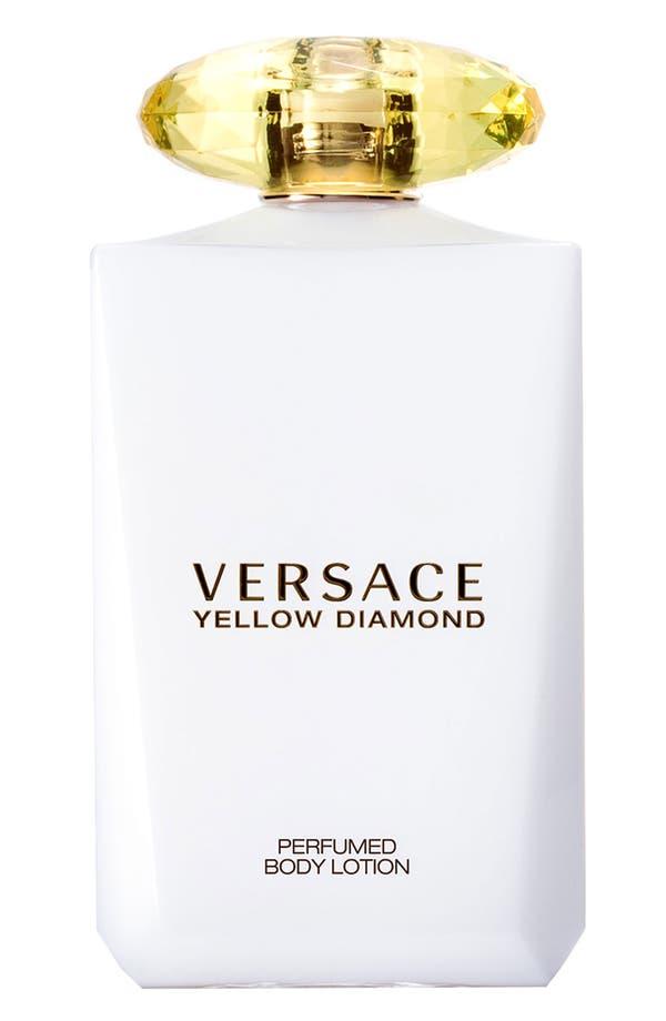 Main Image - Versace 'Yellow Diamond' Body Lotion