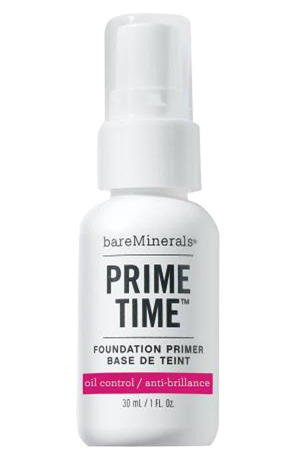 Alternate Image 1 Selected - bareMinerals® 'Prime Time' Oil Control Foundation Primer