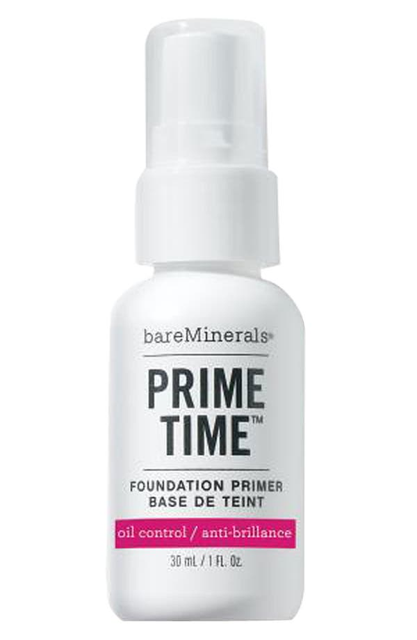 Main Image - bareMinerals® 'Prime Time' Oil Control Foundation Primer