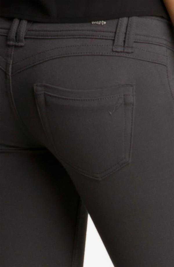 Alternate Image 3  - Jolt Ponte Skinny Pants (Juniors)