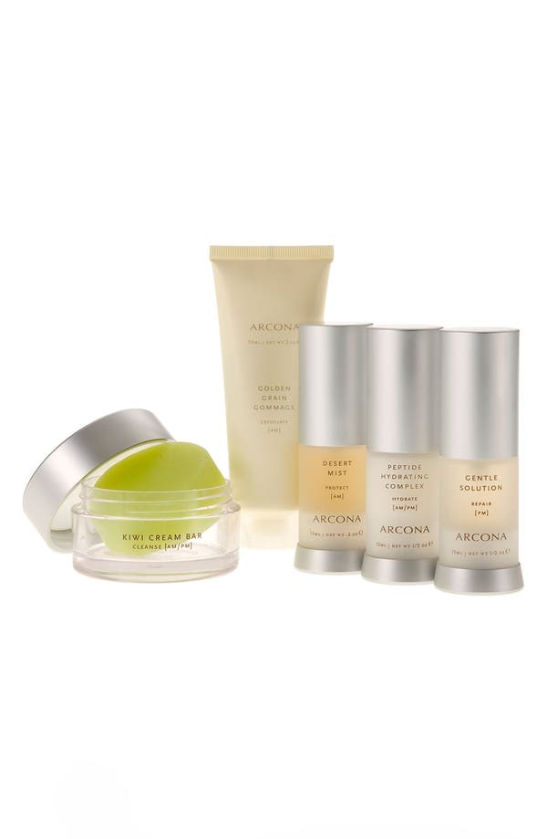 Alternate Image 1 Selected - ARCONA 'Basic Five' Travel Kit for Dry Skin ($125 Value)