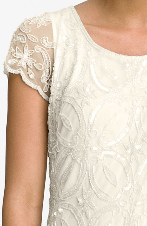 Alternate Image 3  - Pisarro Nights Embellished Scallop Hem Sheath Dress