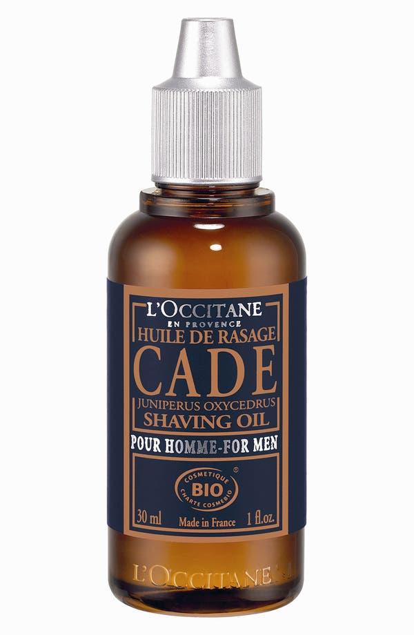 Alternate Image 1 Selected - L'Occitane 'Cade' Shaving Oil