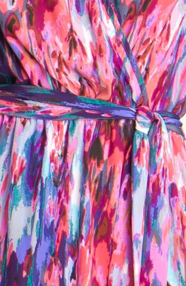 Alternate Image 3  - Presley Skye 'Parker' Print Silk Dress