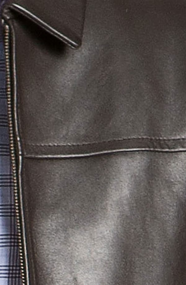 Alternate Image 3  - Cole Haan Leather Jacket (Online Exclusive)