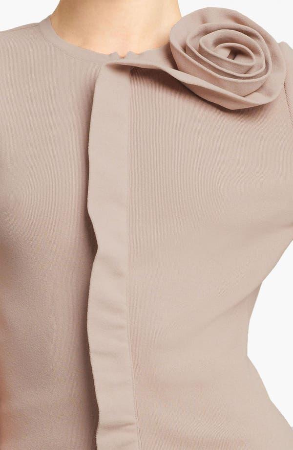 Alternate Image 3  - Valentino Rosette Detail Cardigan
