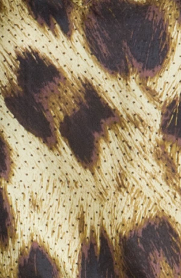 Alternate Image 3  - Magaschoni Dotted Leopard Print Silk Blouse