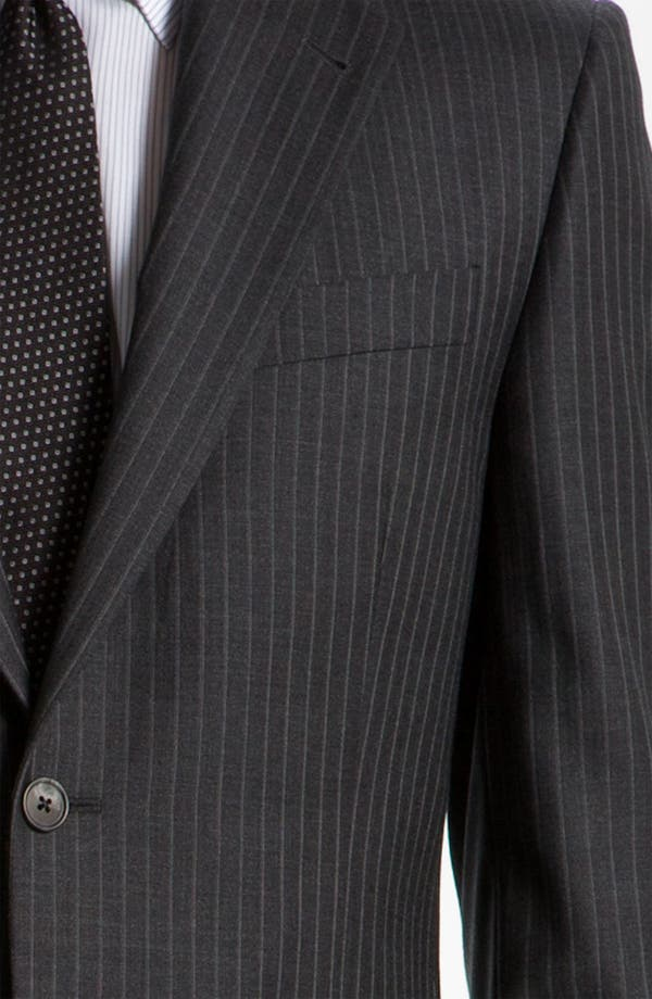 Alternate Image 6  - Joseph Abboud 'Signature Silver' Stripe Suit