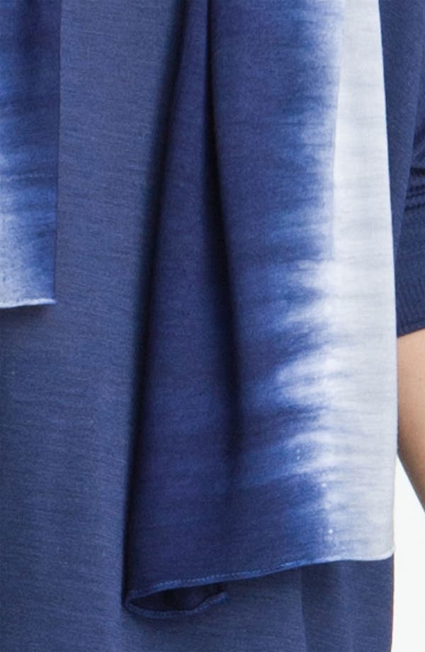 Alternate Image 2  - Eileen Fisher Shibori Knit Scarf