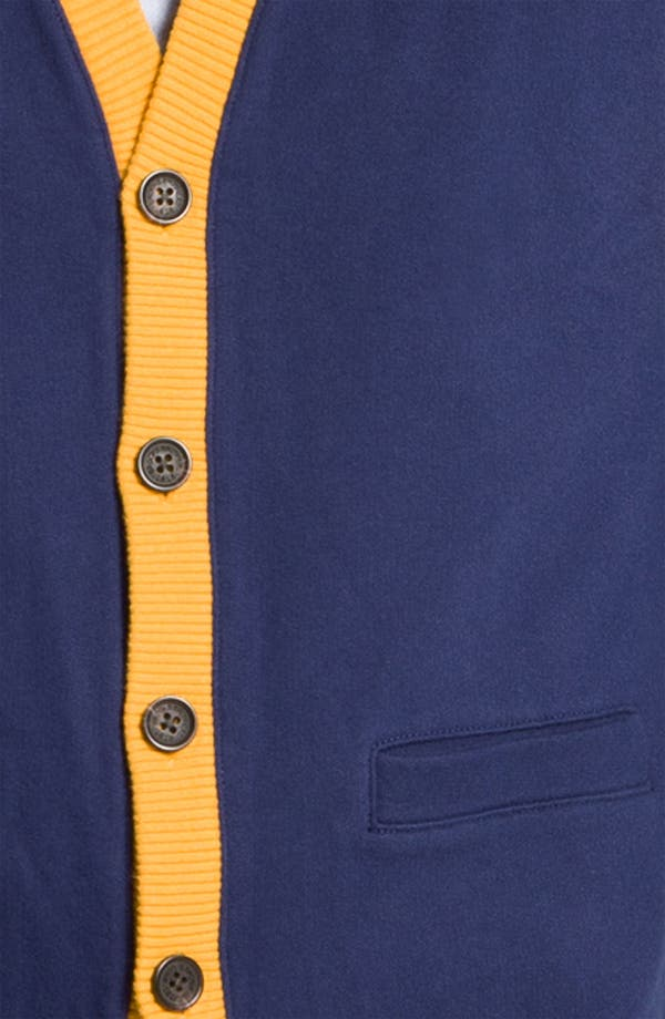 Alternate Image 3  - Brooks Brothers 'Varsity' Cardigan