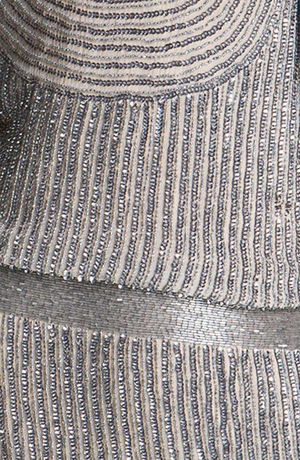 Alternate Image 3  - Adrianna Papell Scoop Back Embellished Silk Blouson Dress