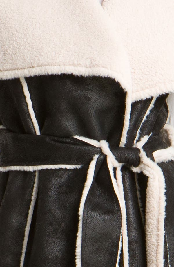 Alternate Image 3  - Mcginn Belted Faux Shearling Vest
