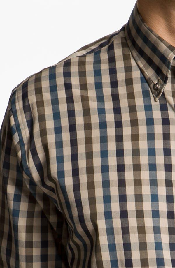 Alternate Image 3  - Cutter & Buck 'Golden Horn' Check Sport Shirt