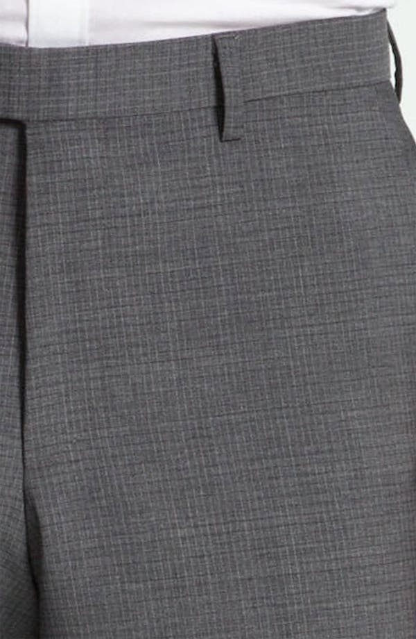 Alternate Image 3  - BOSS Black 'Sharp' Grid Check Wool Trousers