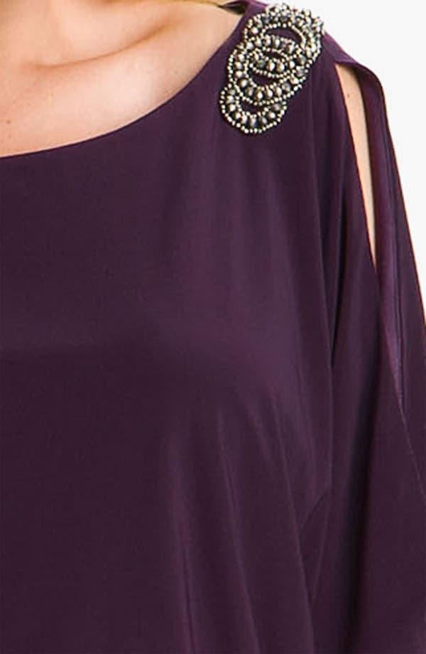 Alternate Image 3  - Xscape Embellished Matte Jersey Blouson Dress (Plus)