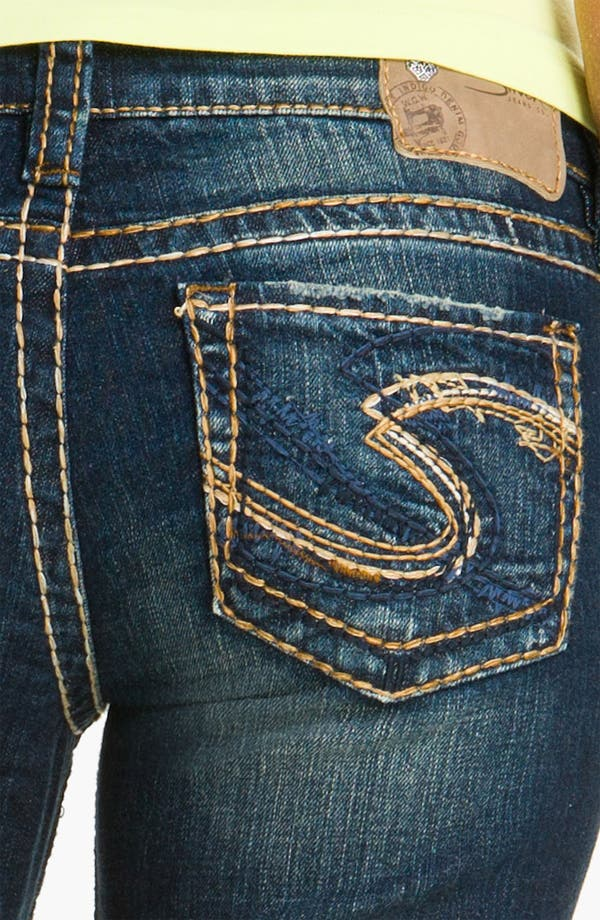 Alternate Image 3  - Silver Jeans Co. 'Lola' Bootcut Jeans (Juniors)