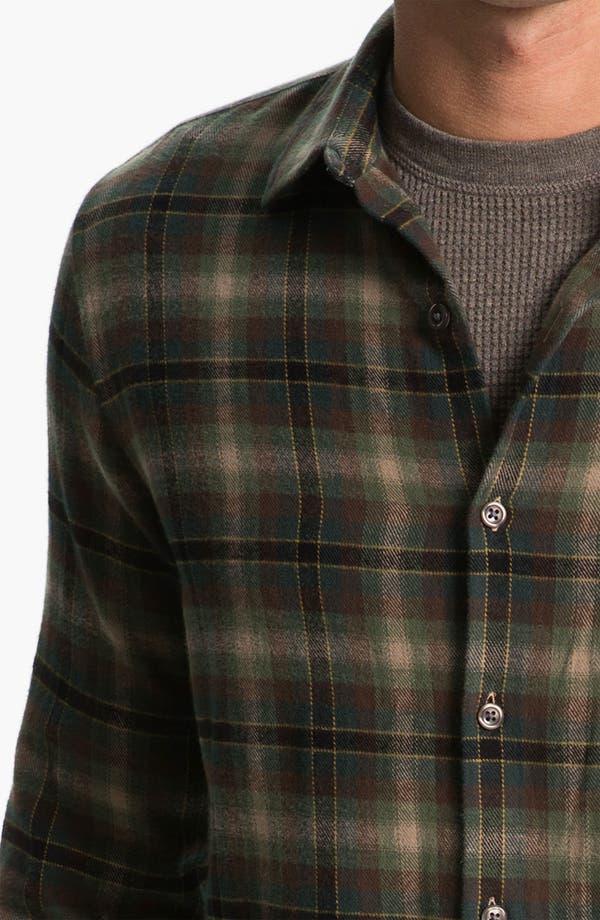 Alternate Image 3  - Vince Plaid Cotton Flannel Shirt