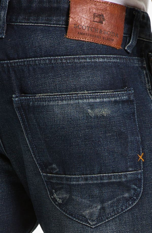 Alternate Image 4  - Scotch & Soda 'Duke' Slim Tapered Leg Jeans (Breslin)